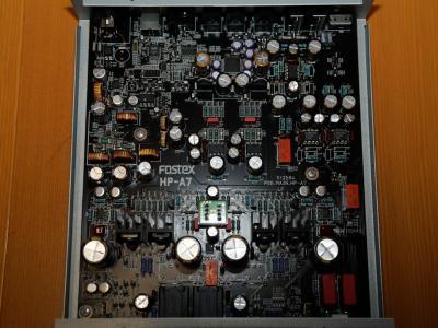 FOSTEX HP-A7のオペアンプ交換